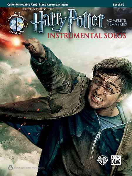 Selections From The Harry Potter Complete Film Series Instrumental Solos By Galliford, Bill (ADP)/ Neuburg, Ethan (ADP)/ Edmondson, Tod (ADP)